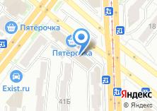 Компания «Учетофф» на карте