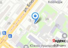 Компания «Общежитие ЧелГМА» на карте