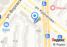 Компания «Рокси» на карте
