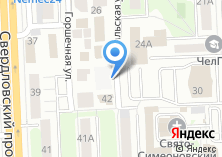 Компания «Леди Фитнес» на карте