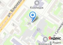 Компания «Общежитие Челябинский колледж информатики» на карте