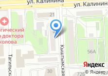 Компания «Булат» на карте