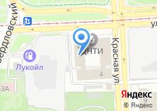 Компания «Инфрадом» на карте