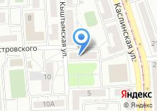 Компания «ИНИТ» на карте