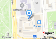 Компания «ГУФИ74.РФ» на карте
