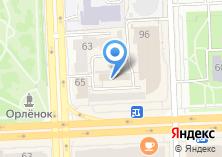 Компания «Parrot» на карте