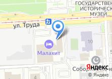 Компания «Паркет-Холл-Челябинск» на карте