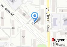 Компания «Мандарин» на карте