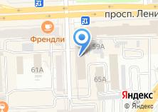 Компания «Двери Урала» на карте