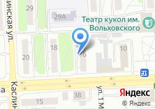 Компания «Уралтраксервис» на карте