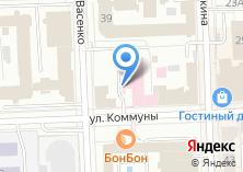 Компания «Медико-санитарная часть МВД России по Челябинской области» на карте