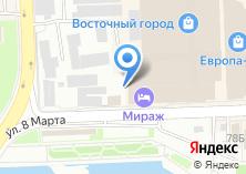Компания «СК ХРИЗОЛИТ» на карте