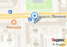 Компания «Министерство промышленности и природных ресурсов Челябинской области» на карте