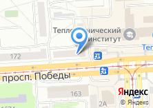 Компания «Эросеть» на карте