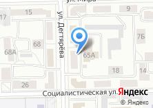 Компания «Мировые судьи Металлургического района» на карте