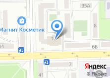 Компания «АКБ Росбанк Челябинский филиал» на карте