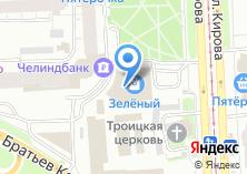 Компания «Салон окон и дверей» на карте