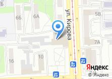 Компания «Челябинский Государственный областной театр кукол им. Вольховского» на карте