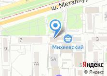 Компания «АСТ Мебель» на карте