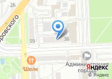 Компания «Комитет по управлению имуществом и земельным отношениям г. Челябинска» на карте