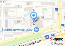 Компания «Уральская строительная корпорация» на карте
