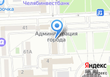 Компания «Управление делами Администрации г. Челябинска» на карте