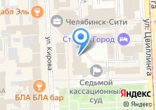 Компания «Ростелеком телекоммуникационная компания Челябинский филиал» на карте