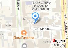 Компания «УРАЛЬСКАЯ ПРОМЫШЛЕННАЯ КОМПАНИЯ» на карте