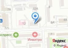 Компания «Акцепт-Сервис» на карте