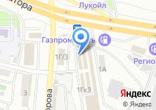 Компания «АНТ» на карте