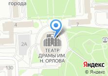 Компания «Челябинский Государственный академический театр драмы им. Н. Орлова» на карте
