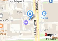 Компания «Челябинск-Тур» на карте