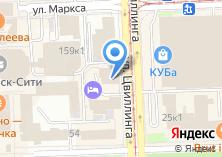 Компания «Карагайский бор пансионат» на карте