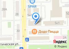 Компания «ВУЗ-банк» на карте