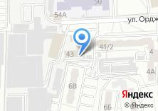 Компания «УралСтройСервис» на карте