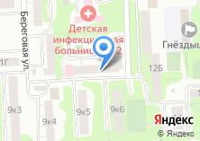 Компания «Мединвест» на карте