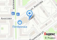 Компания «Магазин мебели и дверей» на карте