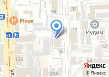 Компания «Строящееся административное здание по ул. Советская (Центральный)» на карте