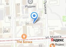 Компания «ЮРЛИГА» на карте