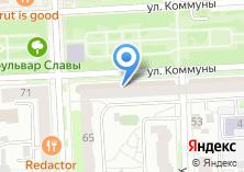 Компания «Центральная городская библиотека им. А.С. Пушкина» на карте