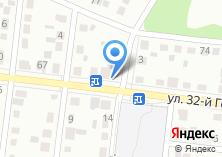 Компания «Продуктовый магазин на ул. 32 годовщины Октября» на карте