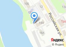 Компания «Еврокомфорт Урал Юг» на карте
