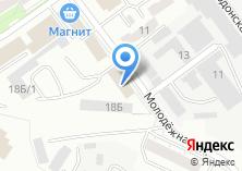 Компания «Баттерфляй» на карте