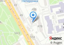 Компания «Секрет» на карте