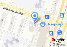 Компания «Уралпосуда» на карте