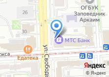 Компания «МТС-Банк» на карте