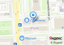 Компания «Баженов» на карте