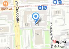 Компания «Банкомат Первобанк» на карте