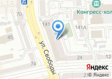 Компания «Челябинсктрансагентство» на карте