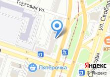 Компания «Капуста» на карте